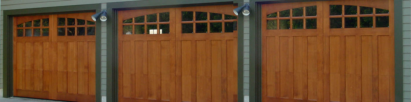 hinged garage door header